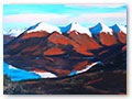 title: FIVE SISTERS OF KINTAIL. size: 30x40cm. £1200