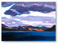 title: SOUND OF SLEAT. size: 21x26cm. £750