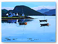 Title: Plockton Morning